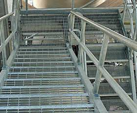 Grating for Walkways & Access Platforms