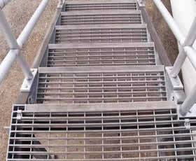 Steel Gratings Applications And Using Stair Treads